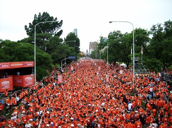 maraton banco galicia
