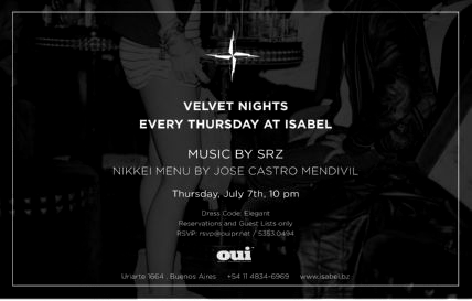 SRZ @ VELVET NIGHTS, ISABEL