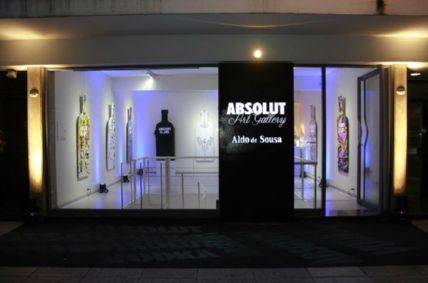 MUSICALIZACION ABSOLUT BLANK EXHIBITION