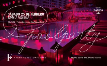 SRZ @ FAENA POOL PARTY