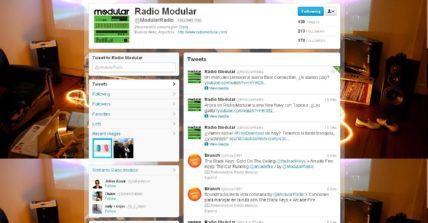 RADIO MODULAR EN REDES SOCIALES: FB y TW