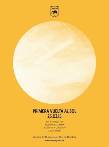 CURADURIA MUSICAL CAMPING: VUELTA AL SOL